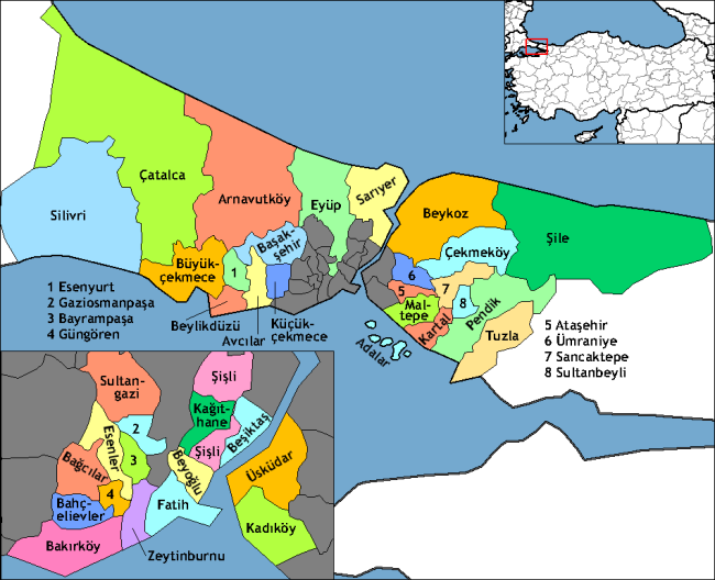 Istanbul_districts