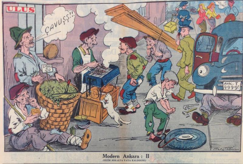 """Modern Ankara-2 (A Footpath on Our Street)"" (10/28/1952)"