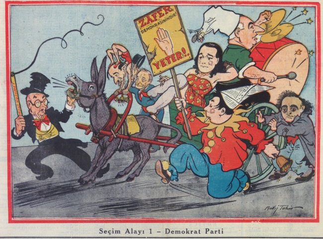 """Election Mockery: The Democrat Party,""  Ulus, 3/12/50"