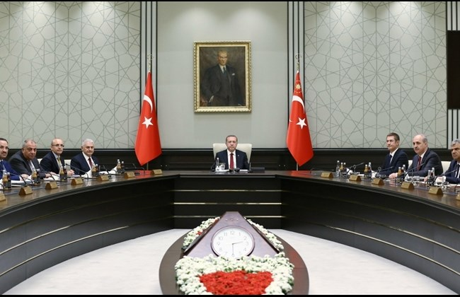 Erdogan Chairs First Cabinet Meeeting(Daily Star, 5.25.16) copy