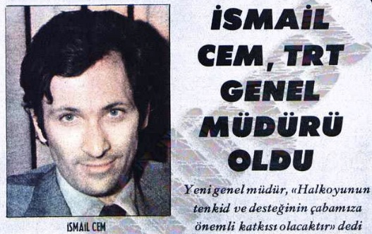 When Leftists Ruled the Airwaves: İsmail Cem, TRT, and a